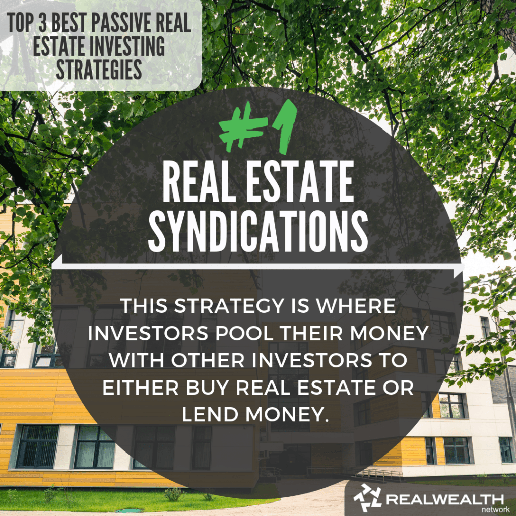 1- Real Estate Syndications