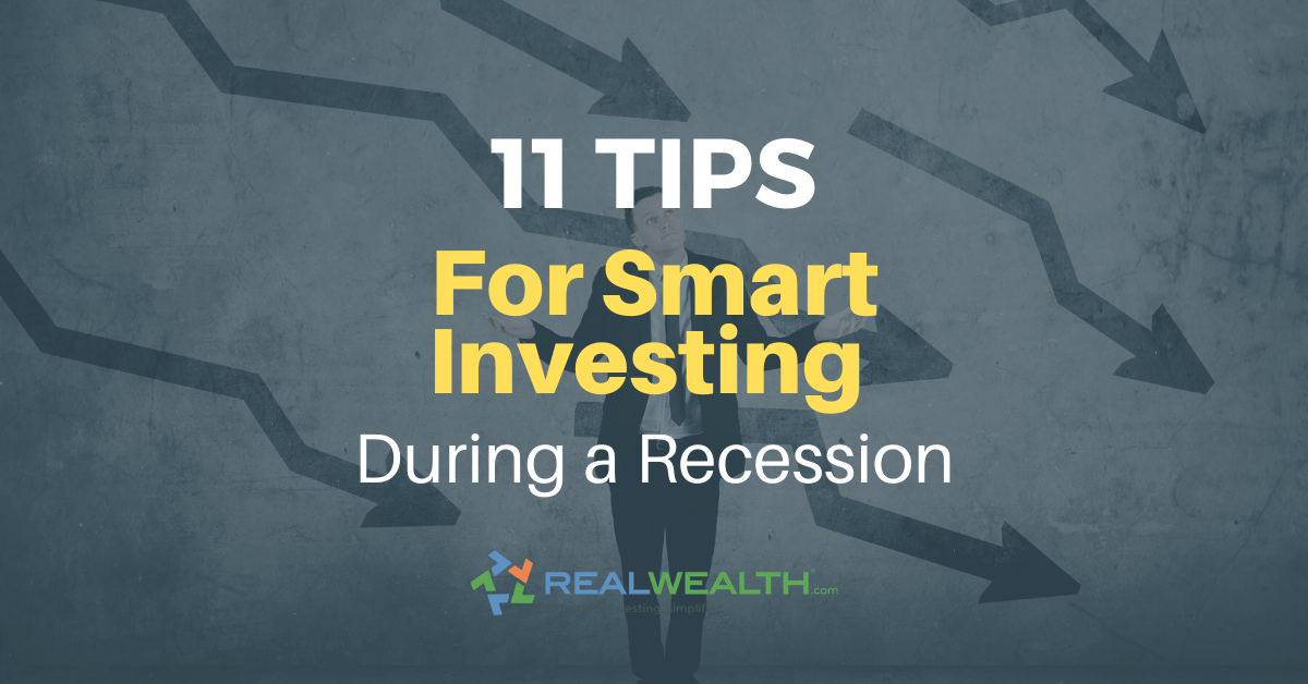 Featured Image for Article - Tips for Smart Investing During a Recession [Free Investor Guide]