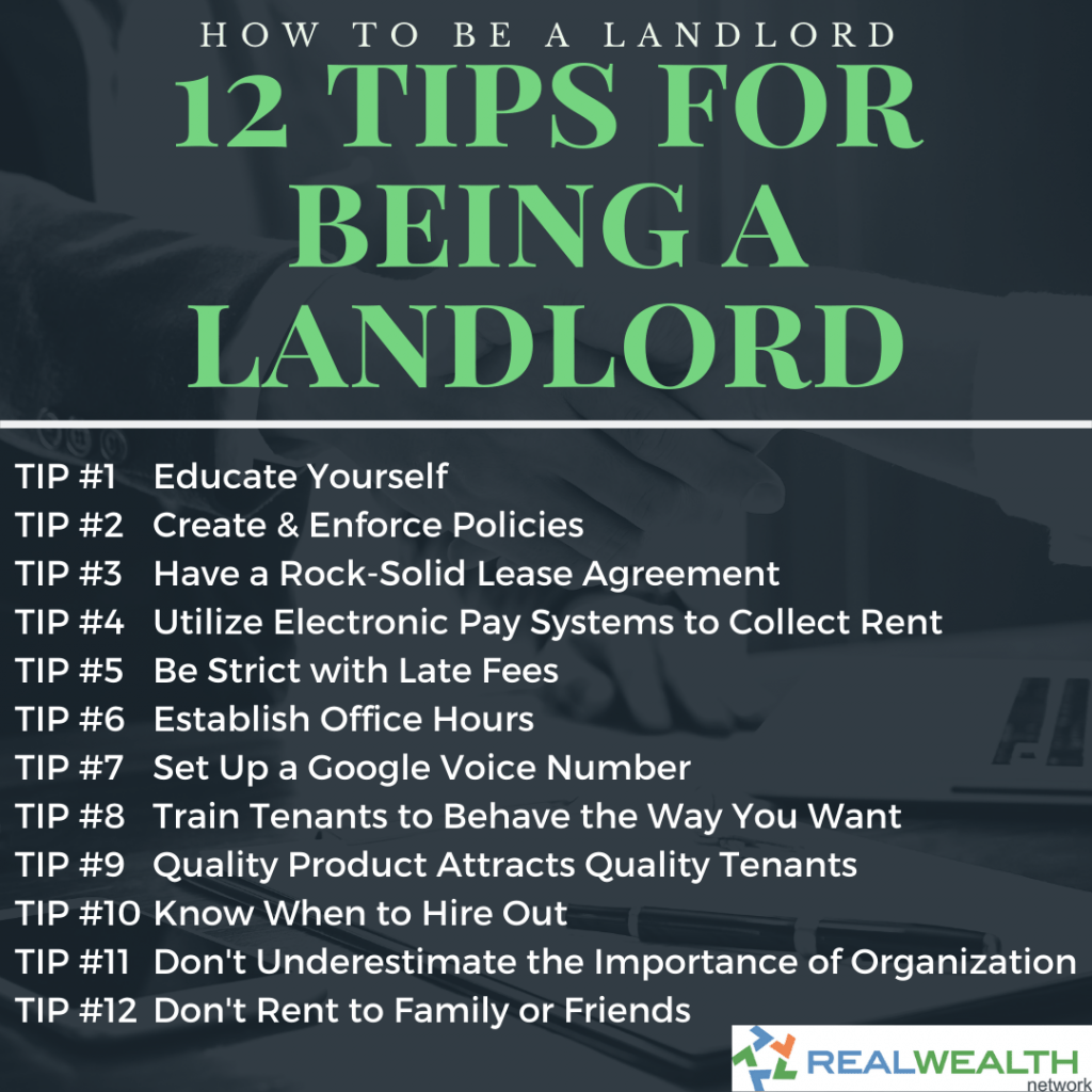 12 Tips for Being a Landlord