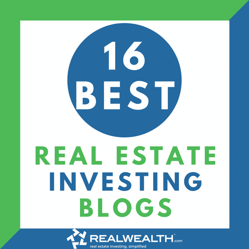 Image Highlighting 16 Best Real Estate Investing Blogs