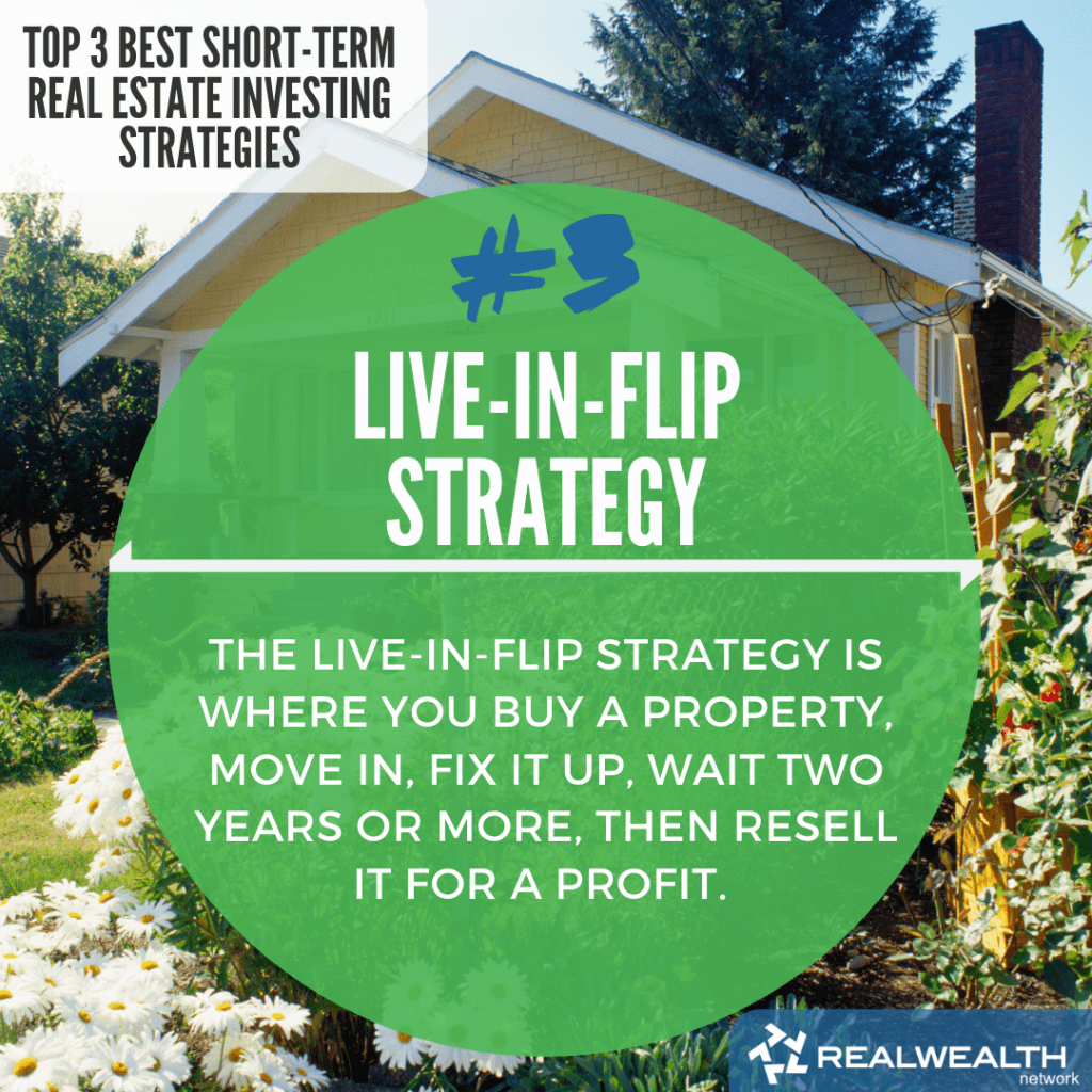 3- Live-In-Flip Strategy