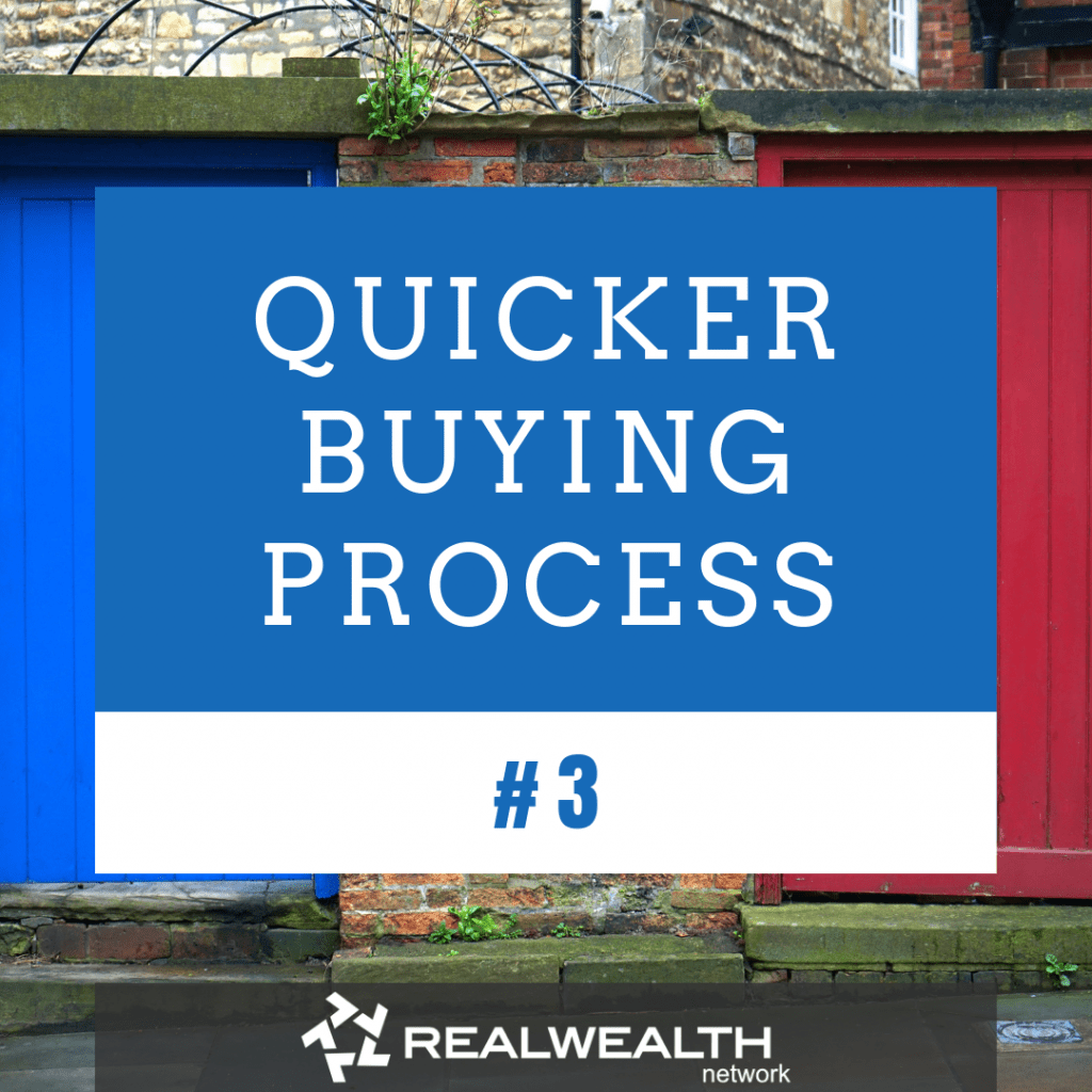 3 Quicker Buying Process