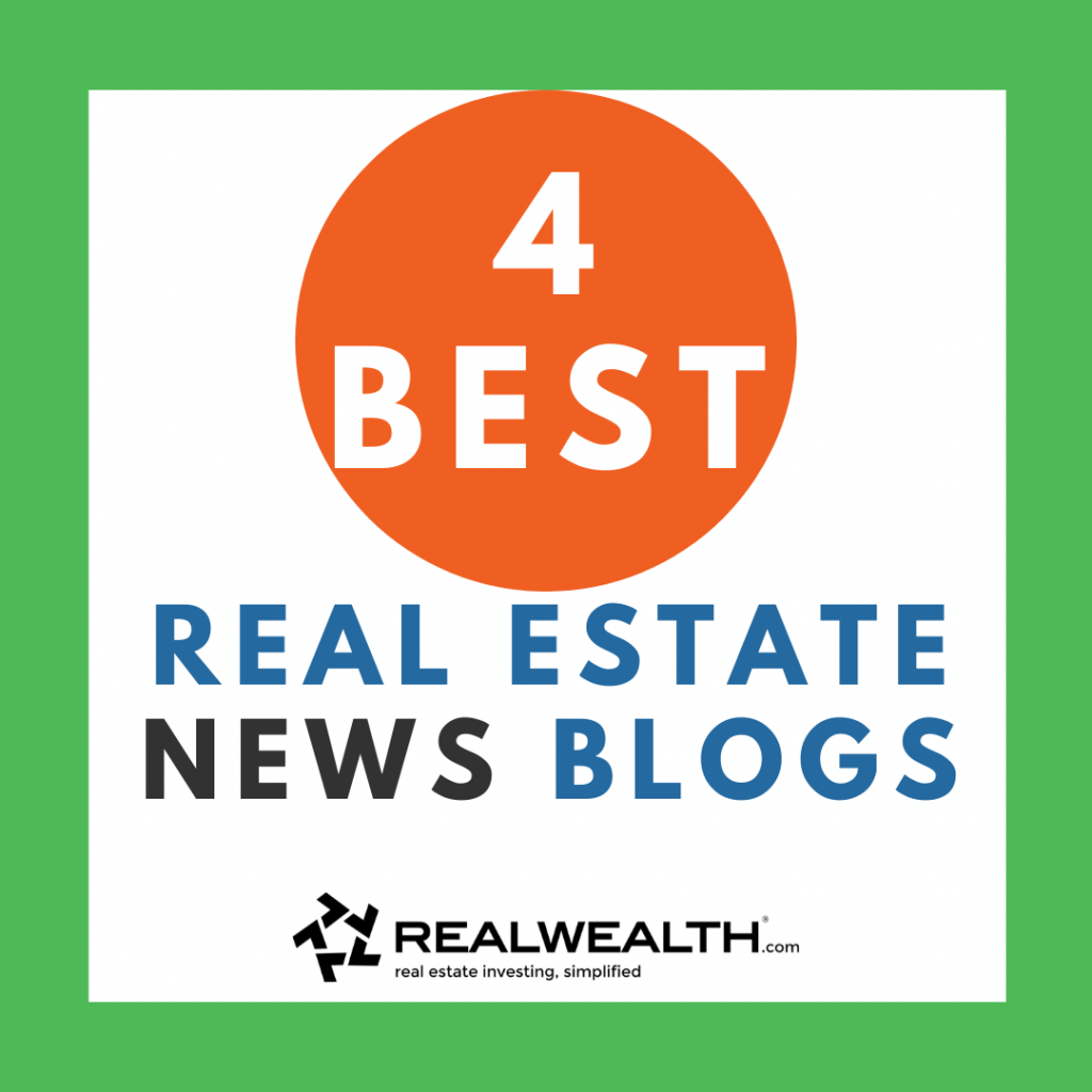 Image Highlighting 4 Best Real Estate News Blogs