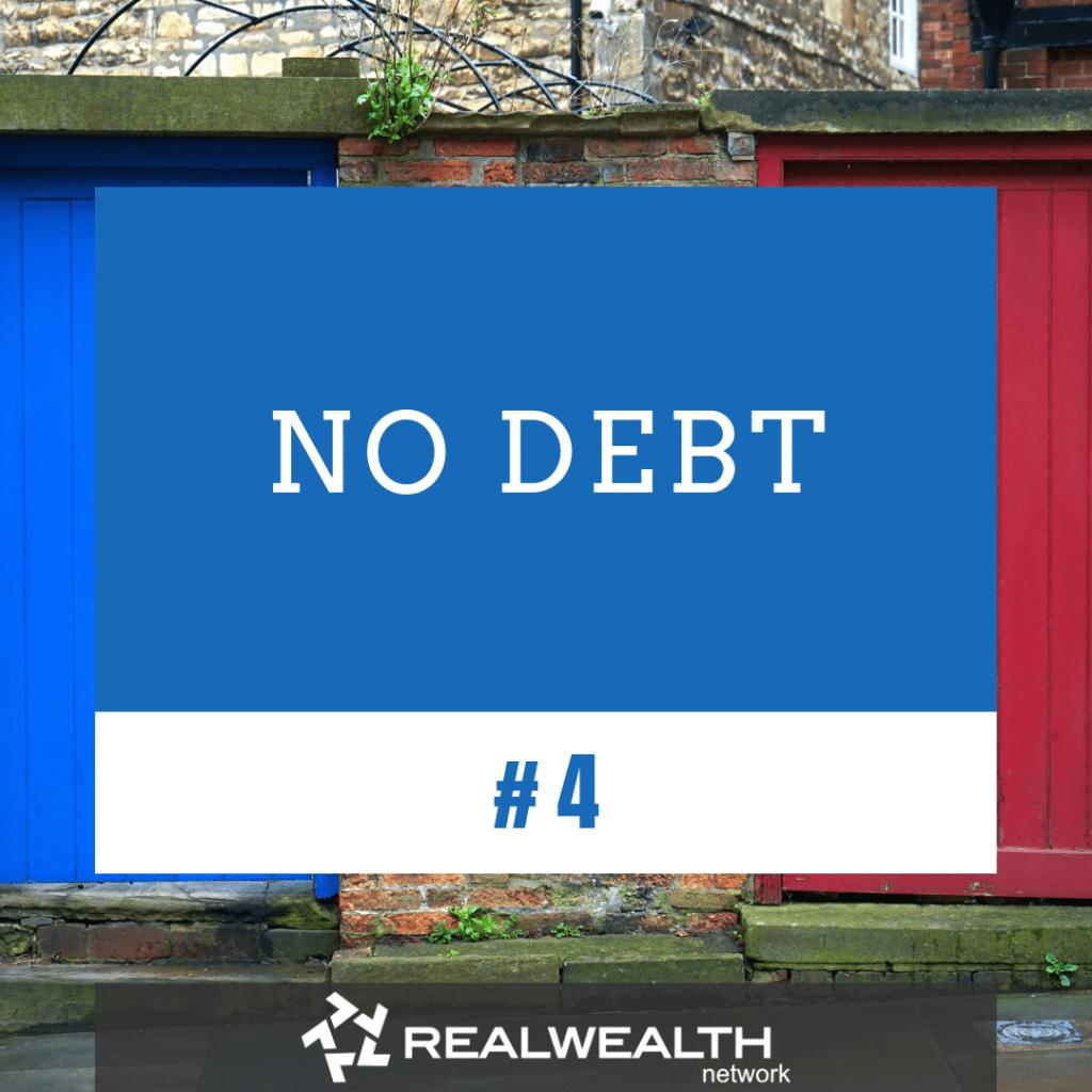4 No Debt