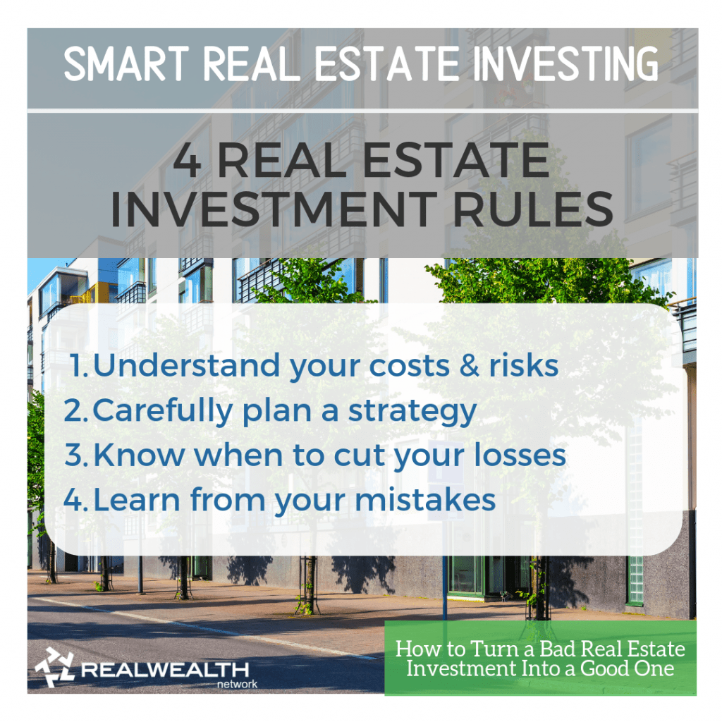 4 Real Estate Investment Rules