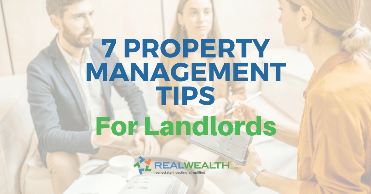 Featured Image for Article - 7 Property Management Tips For Landlords