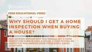 Why Should I Get a Home Inspection When Buying a House? Video