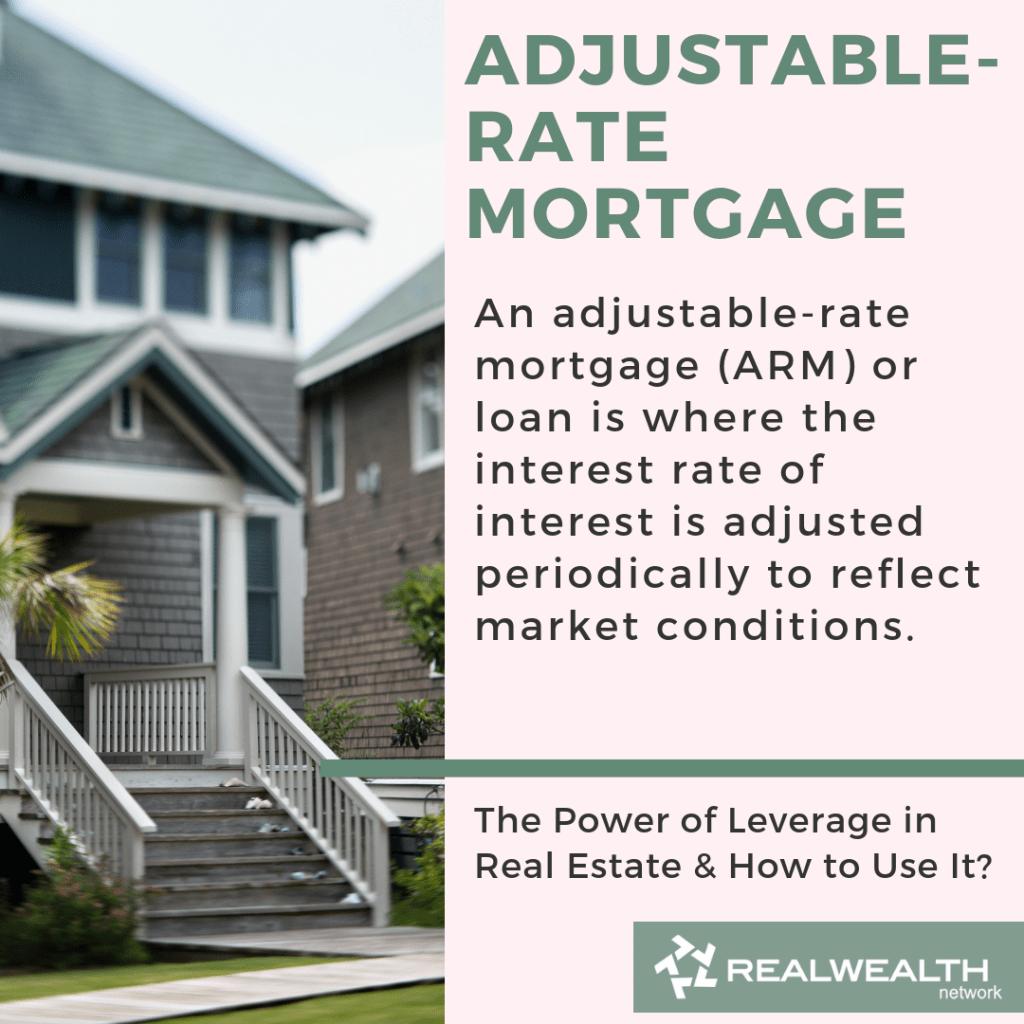 Adjustable-Rate Mortgage