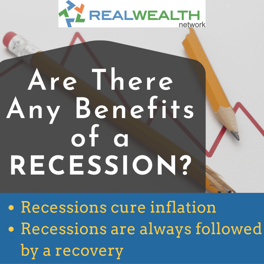 Image highlighting Benefits of a Recession