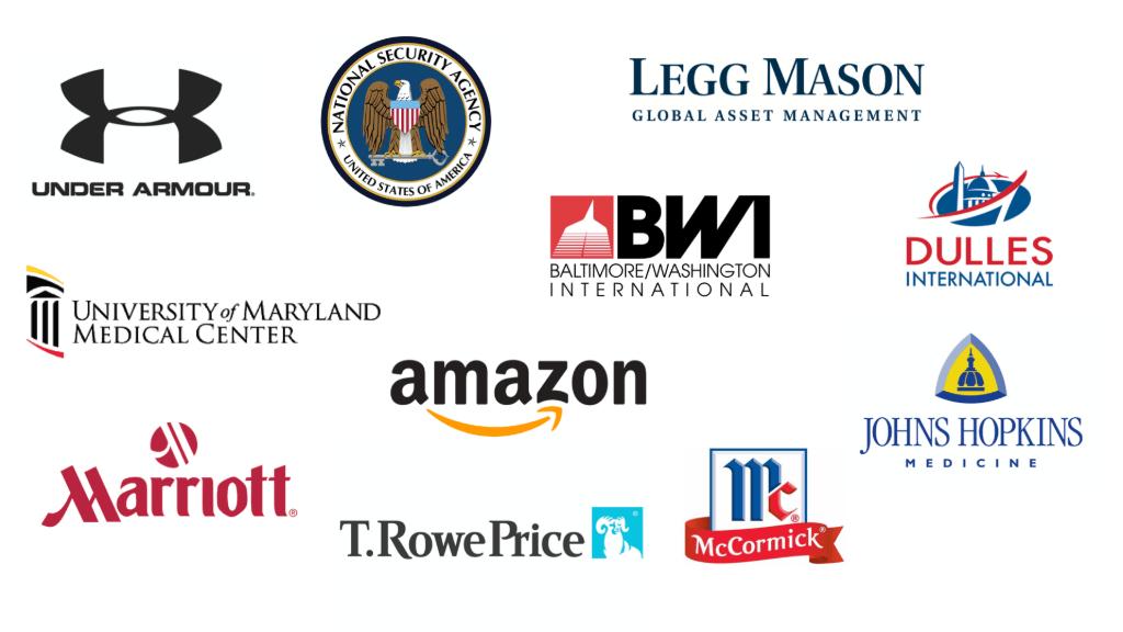 Image Highlighting Baltimore Major Employers