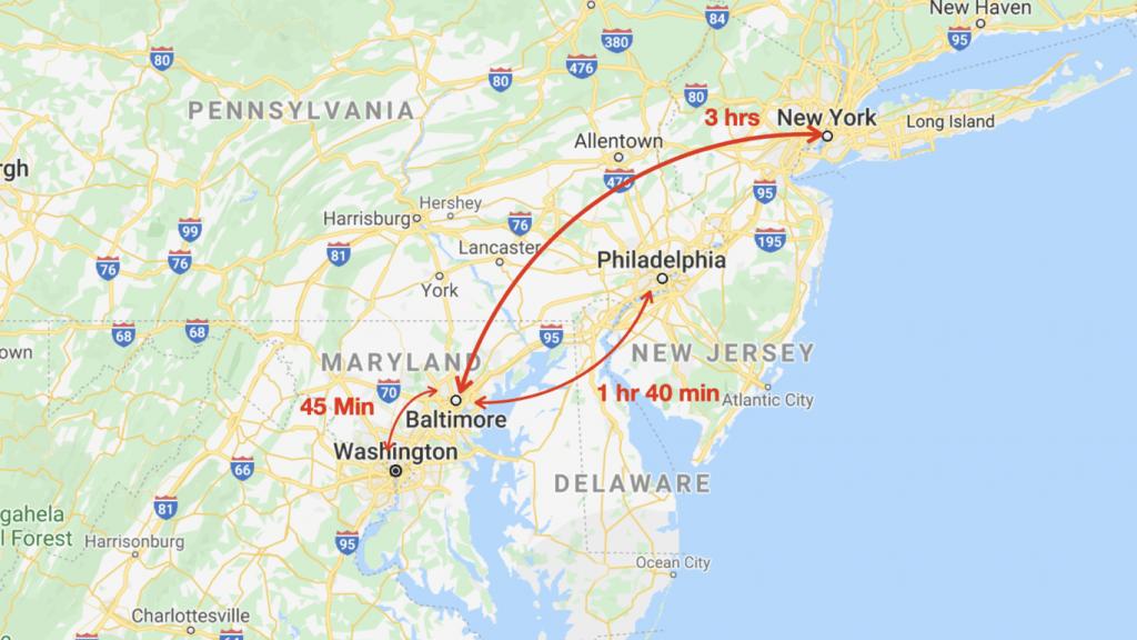 Baltimore Real Estate Market - Nearby Metros