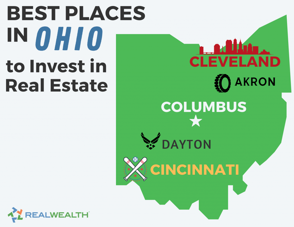 Infographic Highlighting - Best Places in Ohio to Invest in Real Estate
