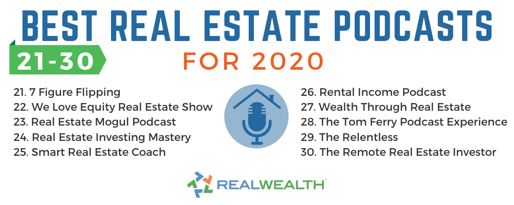 30 Of The Best Real Estate Podcasts For 2021 Free Investor Guide
