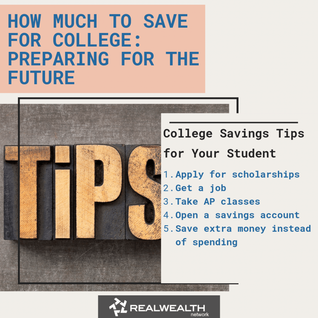 College Savings Tips for Your Student