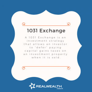 Definition of 1031 Exchange image