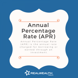Definition of Annual Percentage Rate image