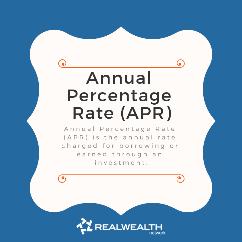 Definition of Annual Percentage Rate (APR) image