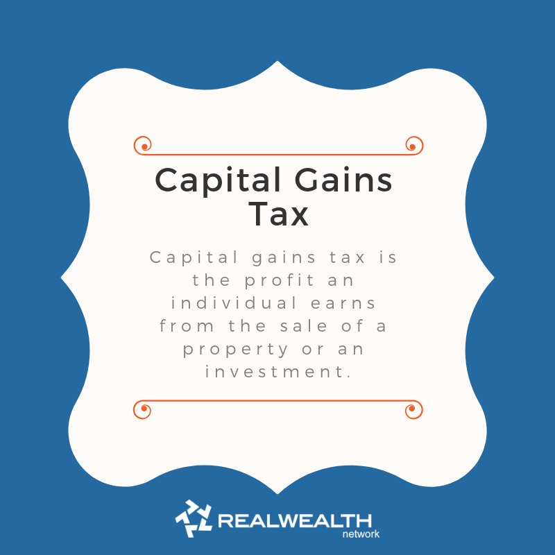 Definition of Capital Gains Tax image