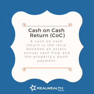 Definition of Cash on Cash return image