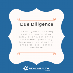 Definition of Due Diligence image