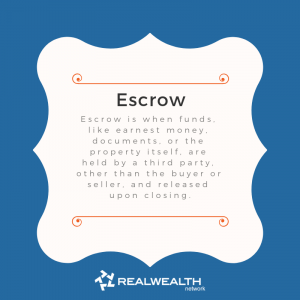 Definition of Escrow image