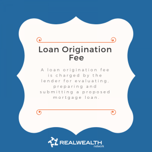 Definition of Loan Origination Fee image