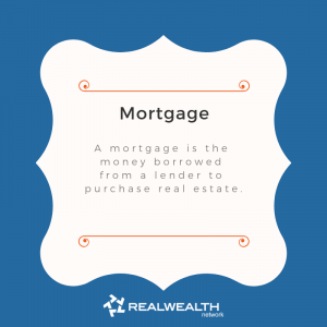 Definition of Mortgage image