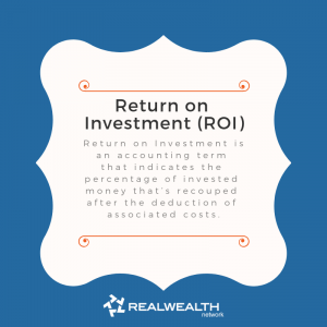 Definition of Return on Investment image