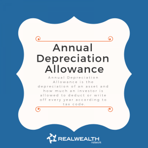 Definition of annual depreciation allowance image