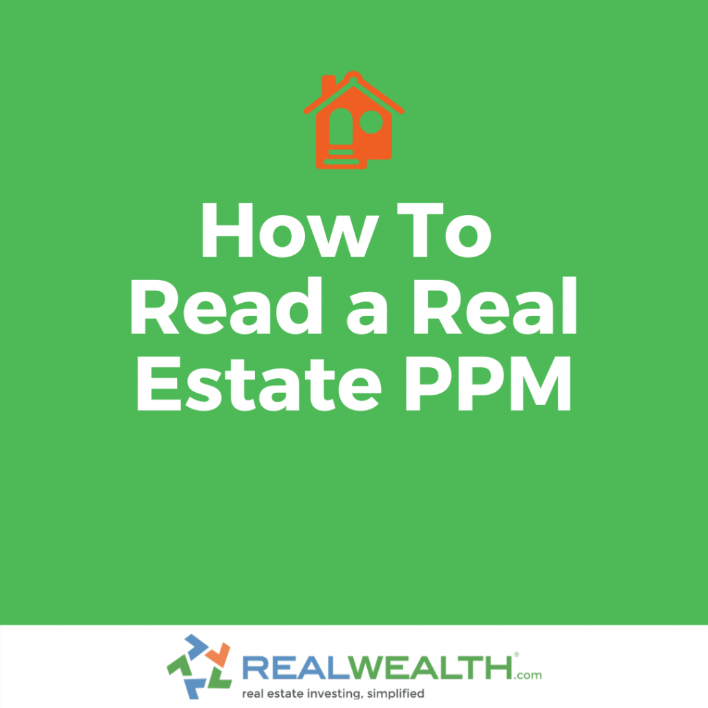 How To Read a Private Placement Memorandum (PPM)