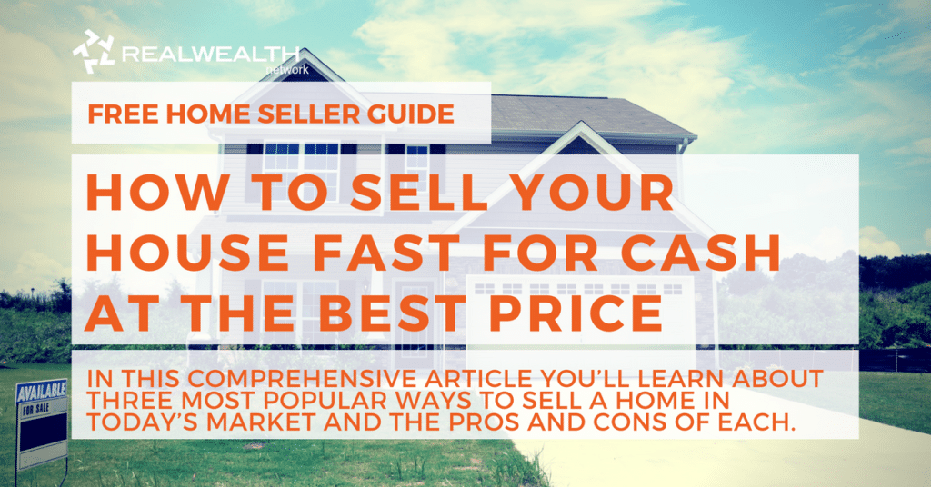 Get the Best Deal When Selling Your Home