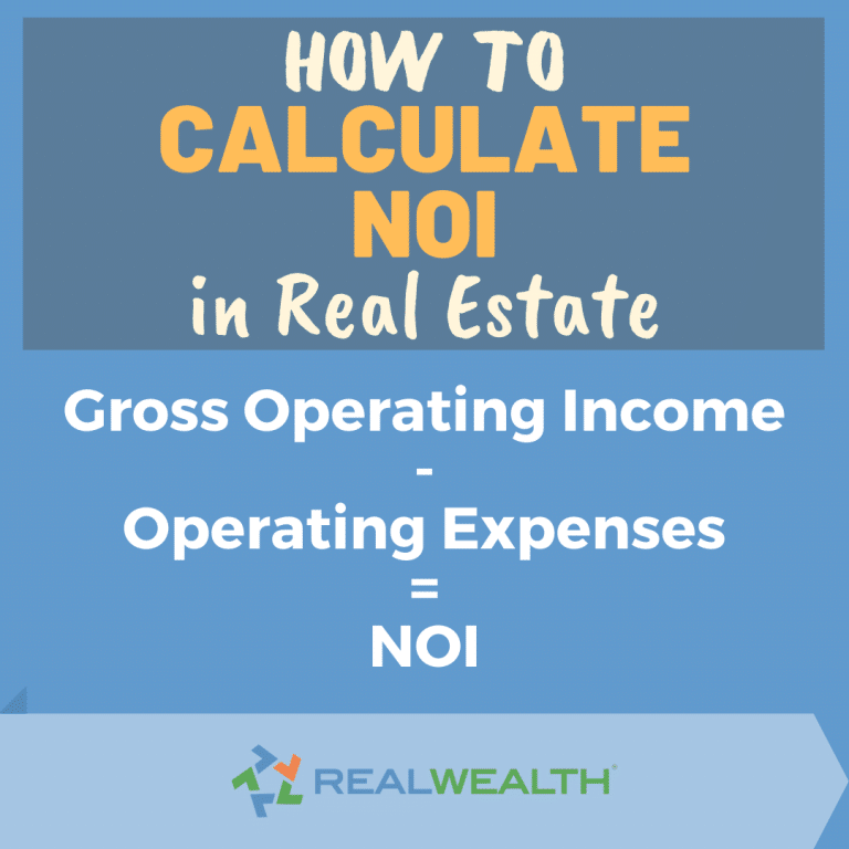 Image Highlighting How to Calculate NOI in Real Estate
