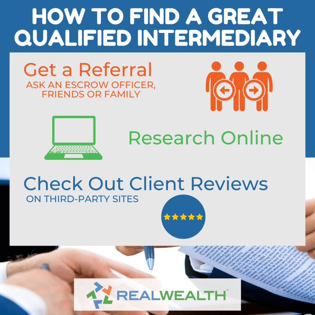 Image Highlighting - How to Find a Great Qualified Intermediary