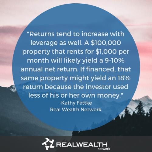 Kathy fettke quote on financing investment property image