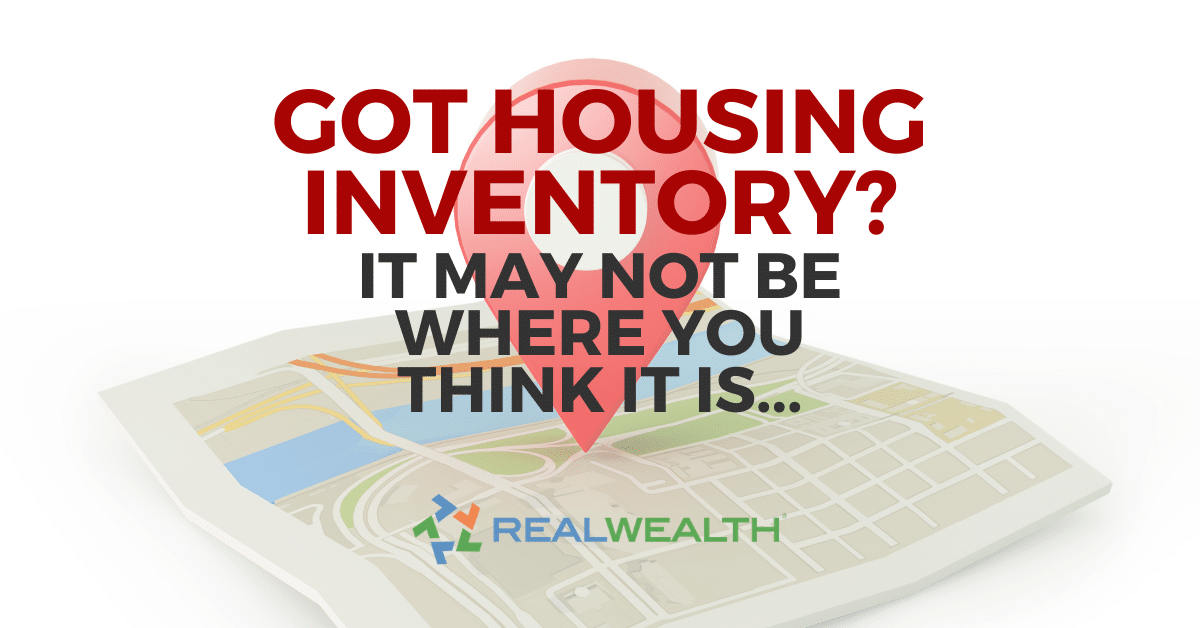 Featured Image for Article - Looking For Housing Inventory? Why It's Hard to Find and 3 Tips to Find It