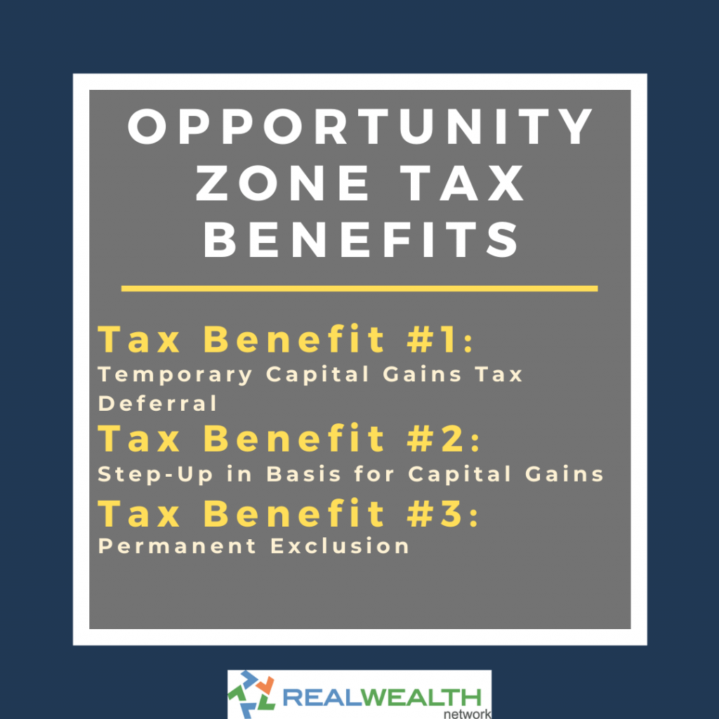 Image highlighting Opportunity Zone Tax Benefits