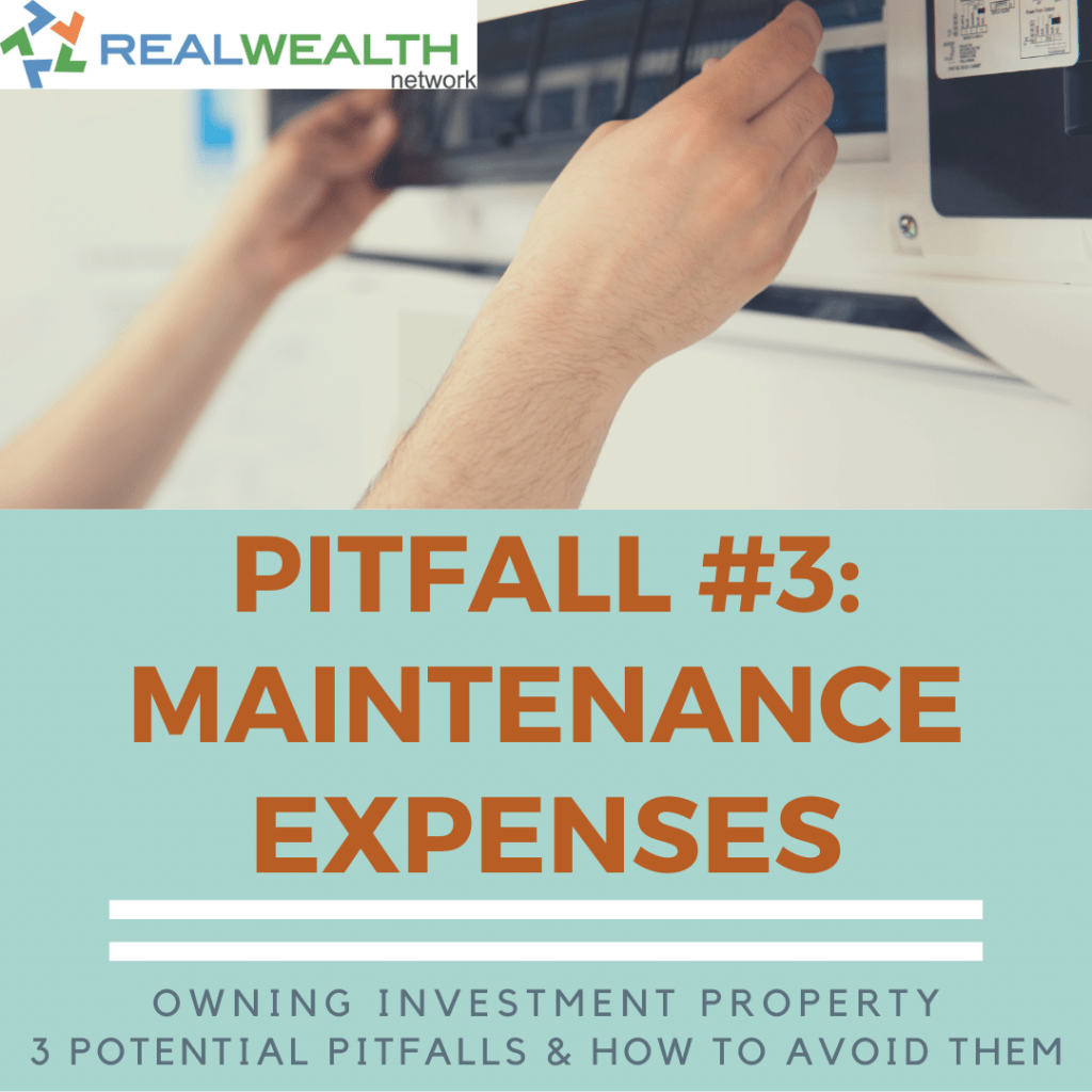 Pitfall 3: Maintenance Expenses