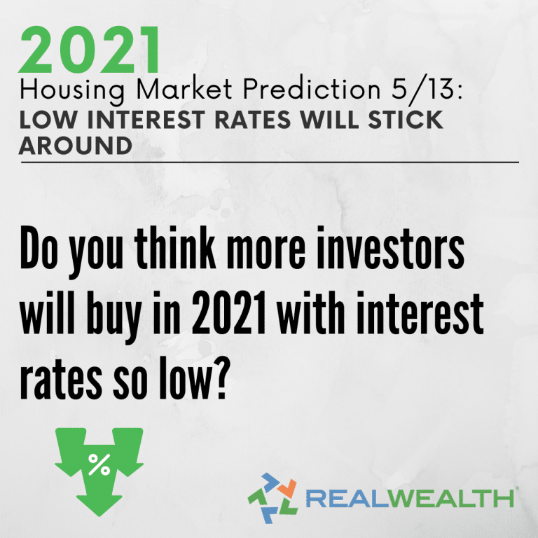Image Highlighting - Prediction 5 Low Interest Rates Will Stick Around