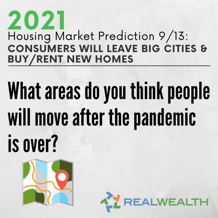 Image Highlighting - Prediction 9 Consumers Will Leave Big Cities and Buy Rent New Homes