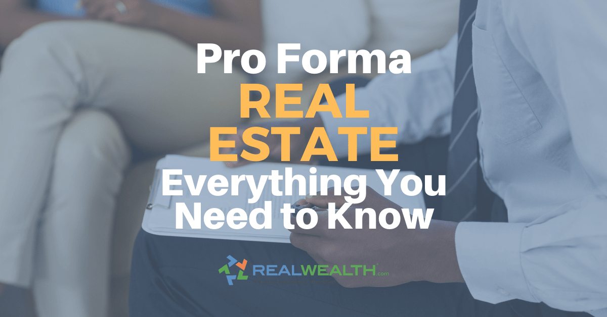 Featured Image for Article - Pro Forma Real Estate Everything You Need To Know