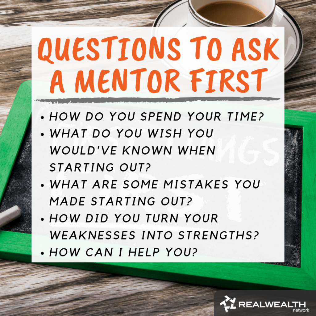 Questions to Ask a Mentor First