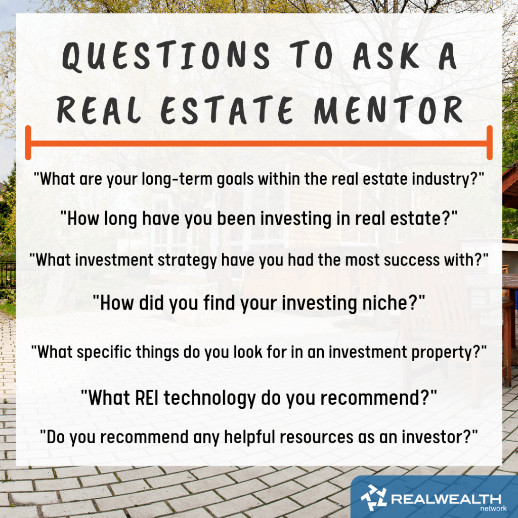 Questions to Ask a Real Estate Mentor image