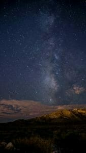 Picture of moutains and sky with stars Real Estate News for Investors Podcast Episode #602