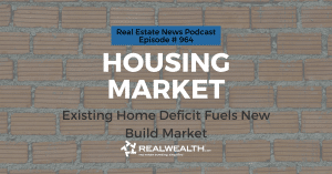 Housing Market: Existing Home Deficit Fuels New Build Market, Real Estate News for Investors Podcast Episode #964 Header