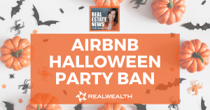 Airbnb Halloween Party Ban, Real Estate News for Investors Podcast Episode #975 - Header