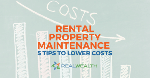 How To Reduce Rental Property Maintenance Costs