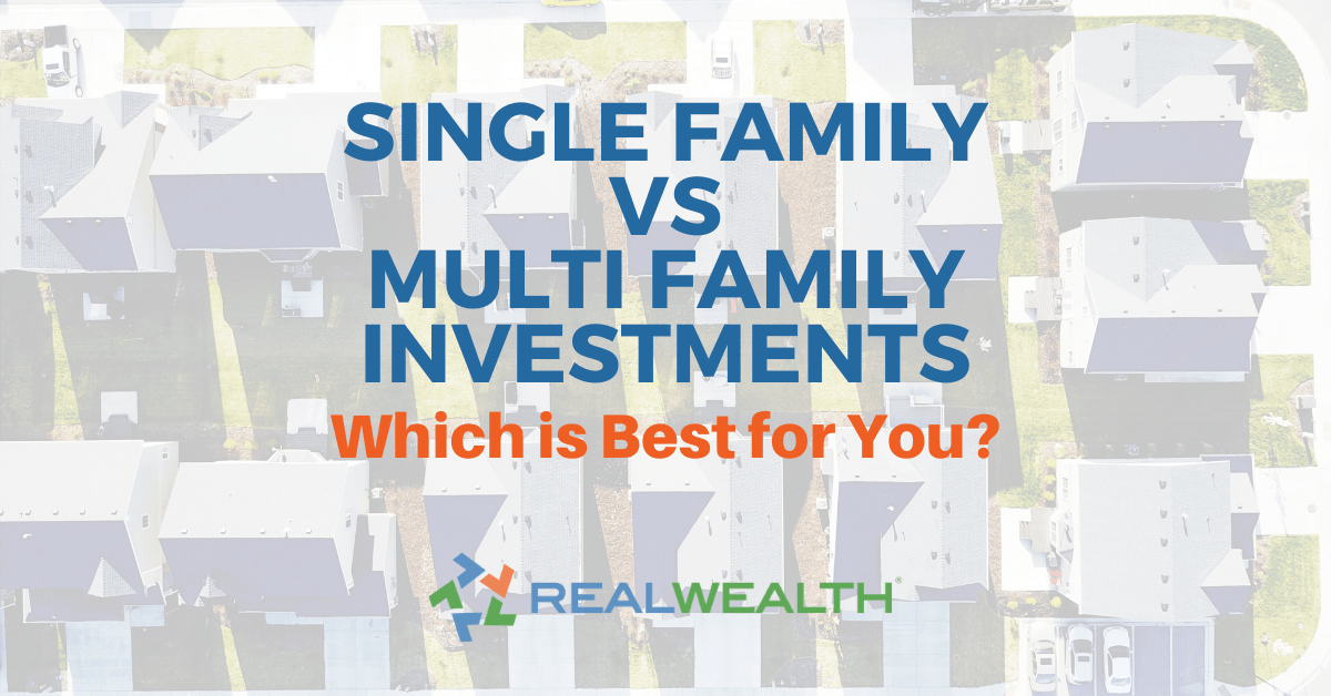 Featured Image for Article - Single Family vs Multi Family Investments-Which is Best for You