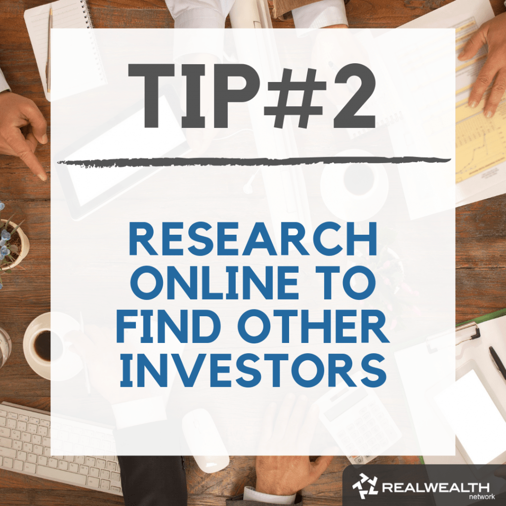 Tip 2 research online to find other investors image