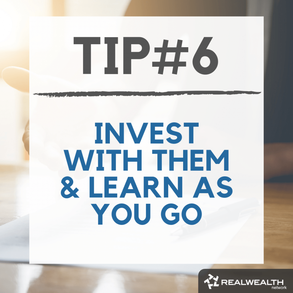 Tip 6 invest with them and learn as you go image