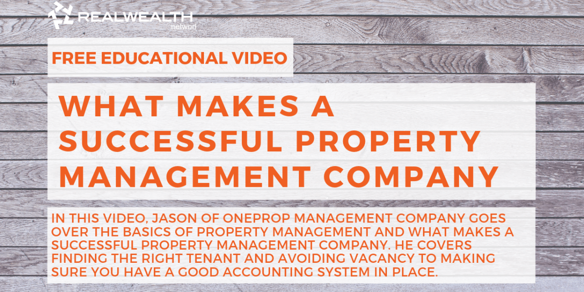 What Makes a Successful Property Management Company